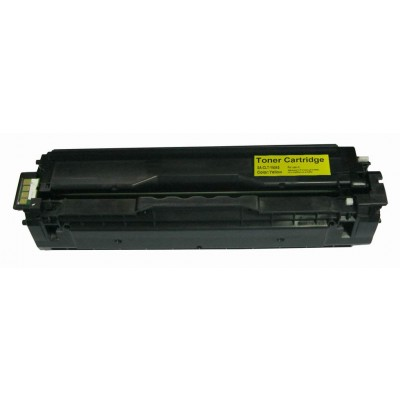 Remanufactured alternative to Samsung CLT-Y504S yellow laser toner cartridge