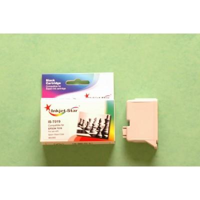 Remanufactured Epson T019201 black inkjet cartridge