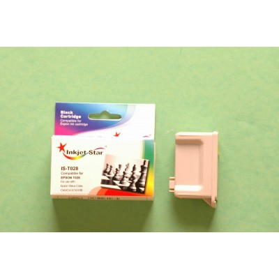 Remanufactured Epson T028201 black ink cartridge