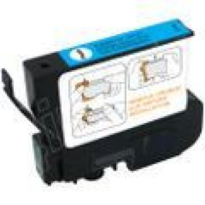 Remanufactured Epson T032220 cyan ink cartridge