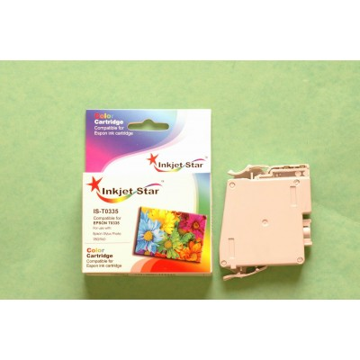 Remanufactured Epson T033520 light cyan ink cartridge