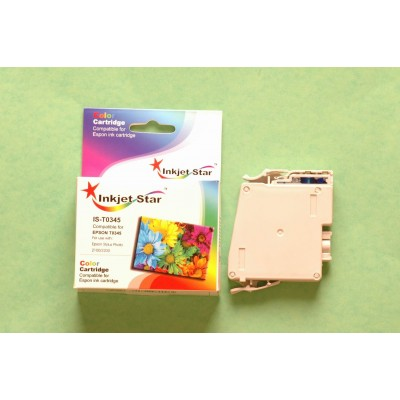 Remanufactured Epson T034520 light cyan ink cartridge
