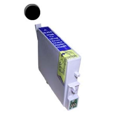 Remanufactured Epson T048120 black ink cartridge