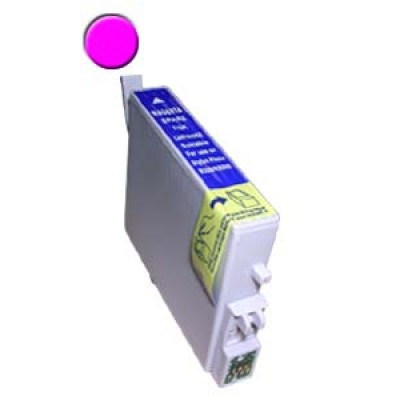 Remanufactured Epson T048320 magenta ink cartridge