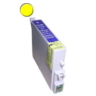 Remanufactured Epson T048420 yellow ink cartridge