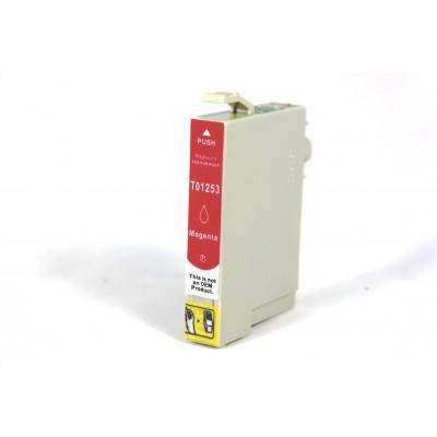 Remanufactured Epson T125320 magenta ink cartridge