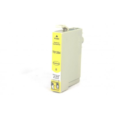 Remanufactured Epson T126420 yellow ink cartridge