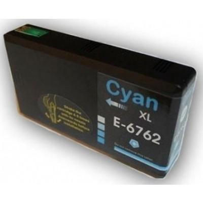 Remanufactured Epson T676xl220 High Yield Cyan ink cartridge