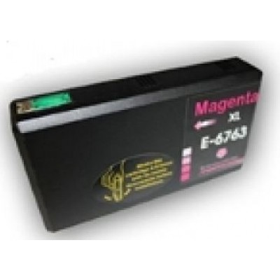 Remanufactured Epson T676xl320 High Yield Magenta ink cartridge