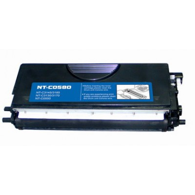 Compatible Brother TN580 high yield black laser toner cartridge