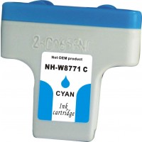 Remanufactured HP C8771WN (#02) high yield cyan ink cartridge