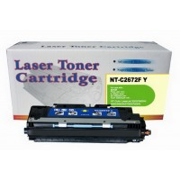 Remanufactured HP Q2672A (HP 308A) yellow laser toner cartridge