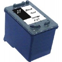 Remanufactured HP C8727AN (No. 27) black ink cartridge