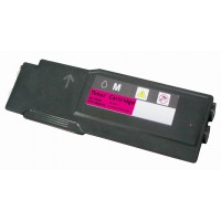 Compatible Dell 331-8431 extra high yield magenta laser toner cartridge