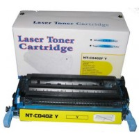 Remanufactured HP CB402A (HP 642A) yellow laser toner cartridge