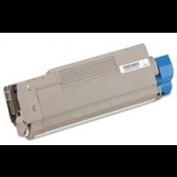 Compatible Okidata 43324401 yellow laser toner cartridge
