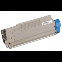 Compatible Okidata 43324403 cyan laser toner cartridge