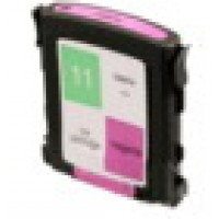 Remanufactured HP C4837AN (No. 11) magenta ink cartridge