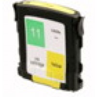 Remanufactured HP C4838AN (No. 11) yellow ink cartridge