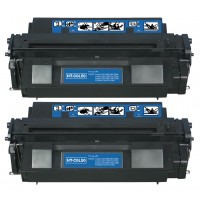 Remanufactured Canon L50 black laser toner cartridge - 2 pieces
