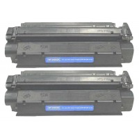 Remanufactured Canon X25 black laser toner cartridge - 2 pieces