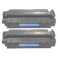 Remanufactured Canon X25 black laser toner cartridge - 2 pieces
