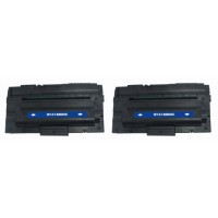 Compatible Dell 310-5417 (X5015) black laser toner cartridge (2 pieces)