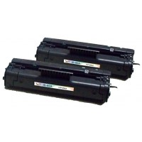 Remanufactured HP C4092A (HP 92A) black laser toner cartridge (2 pieces)