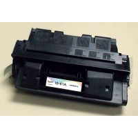 Remanufactured HP C8061X (HP 61X) high yield black laser toner cartridge