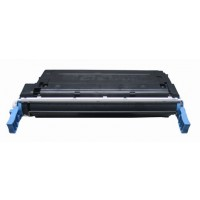 Remanufactured HP C9720A (HP 641A) black laser toner cartridge