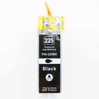 Compatible Canon PGI-225 pigment black inkjet cartridge with chip