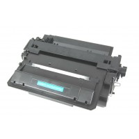 Compatible HP CE255X (HP 55X) high yield black laser toner cartridge