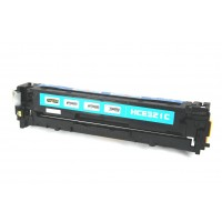 Remanufactured HP CE321A (HP 128A) cyan laser toner cartridge