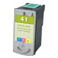 Remanufactured Canon CL-41 color ink cartridge