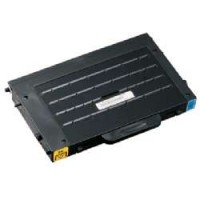 Remanufactured alternative to Samsung CLP-500D5C cyan laser toner cartridge