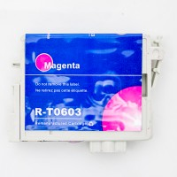 Remanufactured Epson T060320 magenta ink cartridge