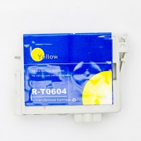 Remanufactured Epson T060420 yellow ink cartridge