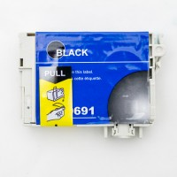Remanufactured Epson T069120 black ink cartridge