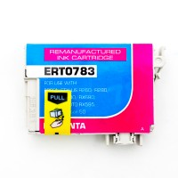 Remanufactured Epson T078320 magenta ink cartridge