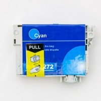 Remanufactured Epson T127220 (T1272) high yield cyan ink cartridge