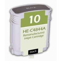 Remanufactured HP C4844A (No. 10) high yield black ink cartridge