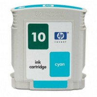 Remanufactured HP C4841AN (No. 10) cyan ink cartridge