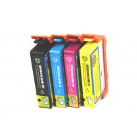 Remanufactured HP 564XL high yield ink cartridges: 1 CN684WN black, 1 CN685WN cyan, 1 CN686WN magenta and 1 CN687WN yellow