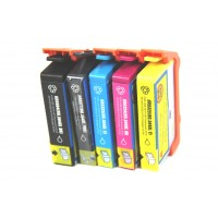 Remanufactured HP 564XL high yield ink cartridges: 1 CN684WN black, 1 CR277WN photo black, 1 CN685WN cyan, 1 CN686WN magenta and 1 CN687WN yellow