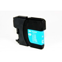 Compatible Brother LC65C cyan ink cartridge