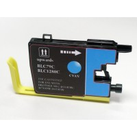 Compatible Brother LC79C extra high yield cyan ink cartridge