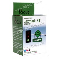 Remanufactured Lexmark 18C0031 (No. 31) photo ink cartridge