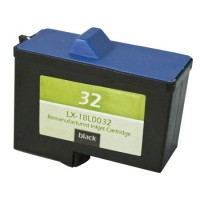 Remanufactured Lexmark 18L0032 (No. 82) black ink cartridge