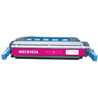 Remanufactured HP CE403A (HP 507A) magenta laser toner cartridge