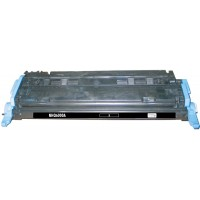 Remanufactured HP Q6000A (HP 124A) black laser toner cartridge